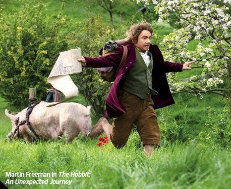 # The Hobbit:Nouvelle image de Bilbo diffusée dans Entertainment Weekly.