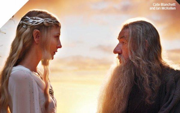 # The Hobbit:Nouvelle image de Gandalf & Galadriel