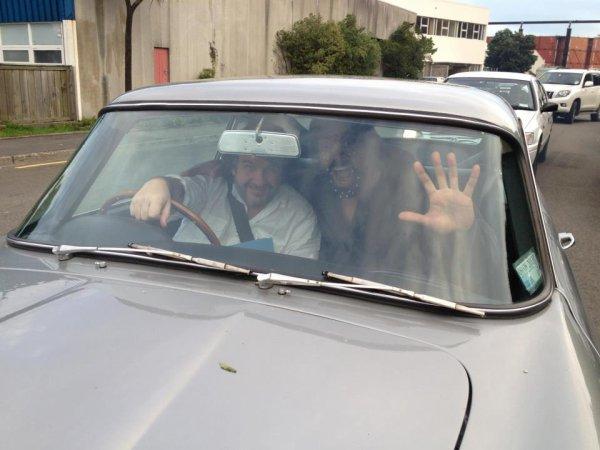 # Casting :Peter Jackson et Manu Bennett sur le tournage