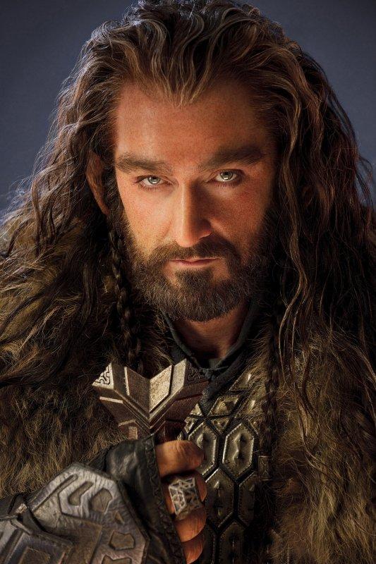 # The Hobbit :Bon ce n'est pas une nouvelle photo car vous l'avez déjà vu il y a quelques semaines mais pour célébrer l'anniversaire de Richard Armitage, hier, le Twitter officiel du film a publié cette photo de Thorin maintenant en HD.