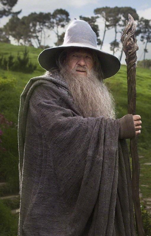 # The Hobbit :Nouvelle Photo de Gandalf