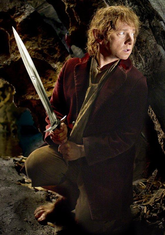 # The Hobbit :Nouvelle Photo de Bilbo avec Dard