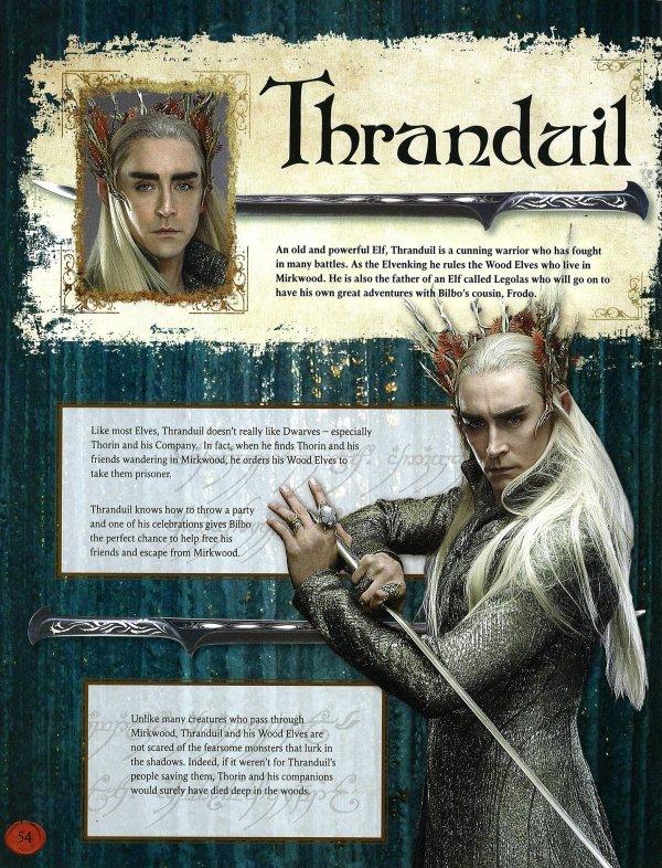 #TheHobbit :Premier aperçu de Thranduil !