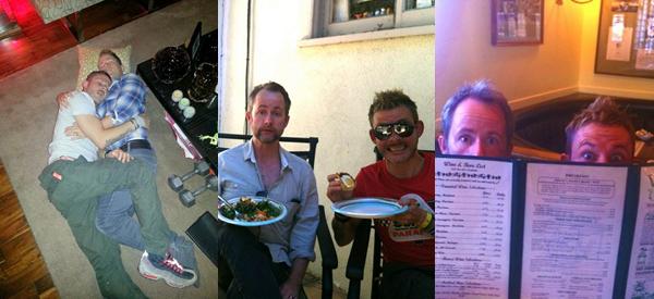 # Billy & Dominic :Quelques photos de nos Merry et Pippin