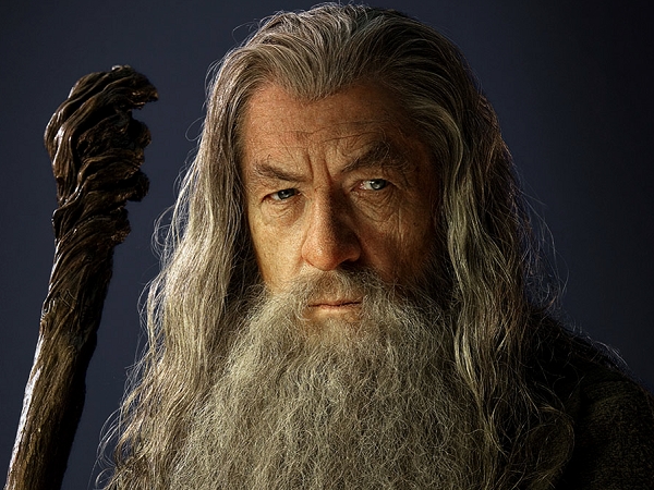 #TheHobbit :Photoshoot de Gandalf le Gris