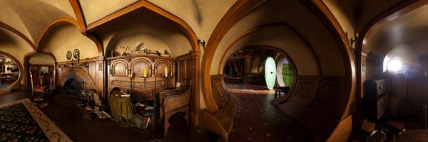 #TheHobbit :Des photos de Hobbiton & de Bag EndToujours via l'application Apple, nous découvrons des photos des lieux du tournageà Hobbiton et Bag End. C'est vraiment magnifique, vous ne trouvez pas?