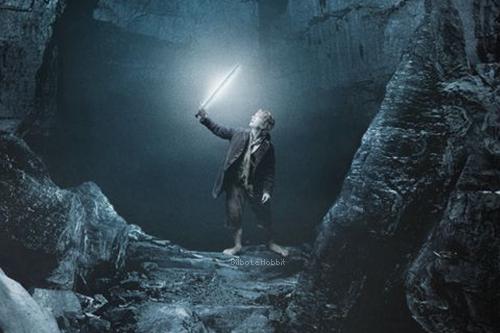 #TheHobbit :Bilbo, dans la caverne de Gollum?