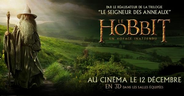 #TheHobbit :La Warner Bros française organise un Concours !