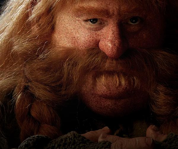 #TheHobbit :Nouvelle photo de Bombur et nouveau site pour The Hobbit