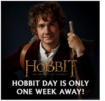 #TheHobbit :Plus qu'une semaine avant la journée spéciale The Hobbit !