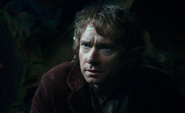 #TheHobbit :Deux Nouvelles photos de Bilbo & Gollum !