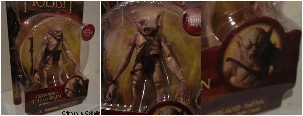 #TheHobbit :De nouvelles Figurines pour le film avec de nouveaux visuels de personnages dévoilés !On découvre ainsi Bolg, Grinnah ou encore le Roi Gobelin !