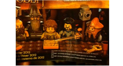 #TheHobbit :Premier aperçu des LEGO de Thorin et Nori