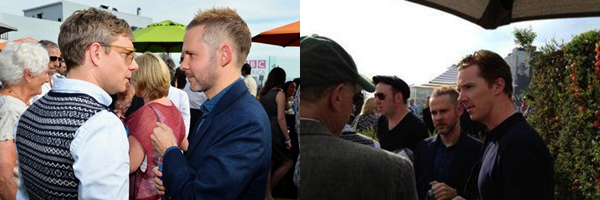 #Evènements 2012 :Quand un acteur du Seigneur des Anneaux rencontre un acteur de The Hobbit