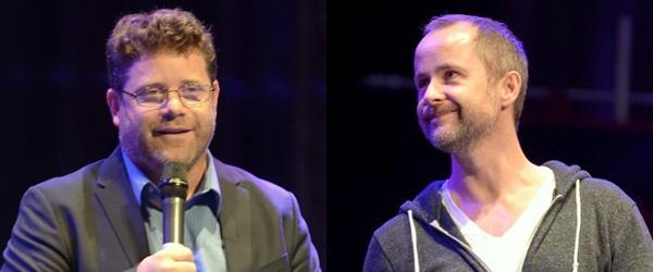 #TheHobbit :Sean Astin et Billy Boyd à la RingCon 2012 !Les deux acteurs étaient ce week-end en Allemagne pour la convention annuelle de Fantasy.Voici les premières photos des interprètes de Sam et Pippin datant de Vendredi dernier.