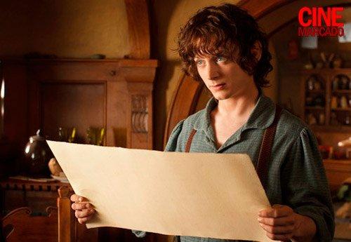 #TheHobbit :Première photo d'Elijah en Frodo BagginsDans le premier film !