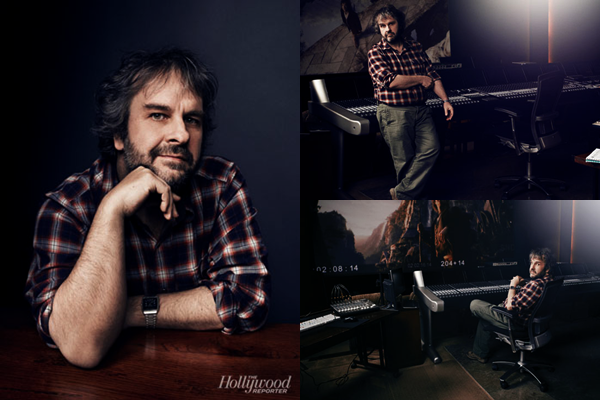 ■ [ Peter Jackson ]  Photoshoot de PJ pour The Hollywood Reporter