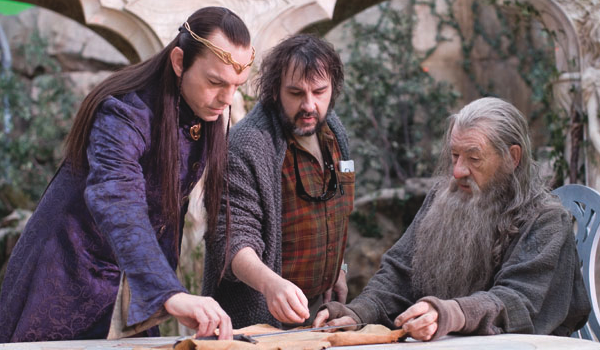 ■ [ The Hobbit ]  Photos du tournage du film par The Hollywood Reporter