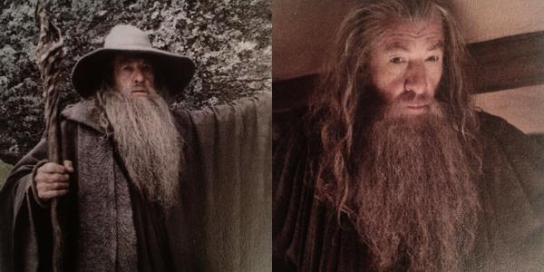 ■ [ The Hobbit ]  Jeu de Cartes - Suite des Nouvelles PhotosQuelques clichés de notre Gandalf, des magnifiques paysages de la Nouvelle-Zélande, Stills...