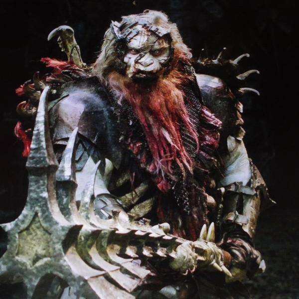 """■ [ The Hobbit ]  Visuel de Bolg en bonne qualitéVia TolkienDrim, nous découvrons un cliché en haute définition du """"ravissant"""" orc"""