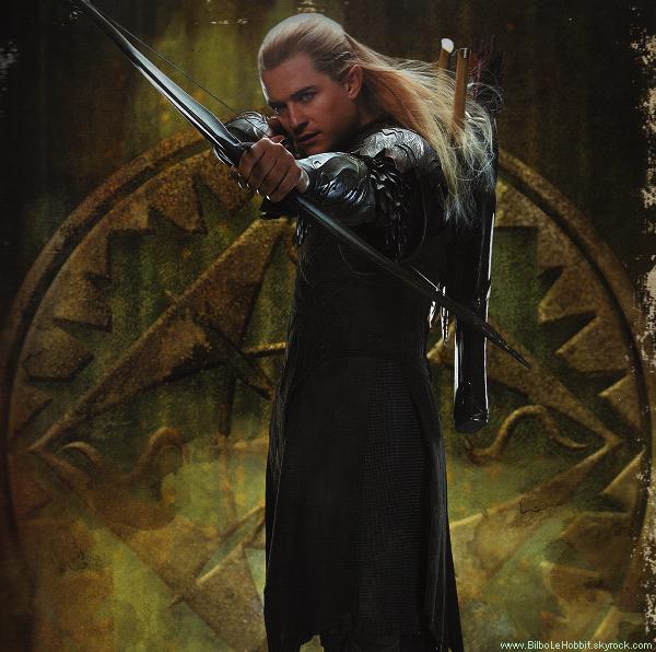 ■ [ The Hobbit ]  Un visuel de Legolas en meilleure qualité