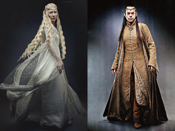 ■ [ The Hobbit ]  Photoshoot de Galadriel et Elrond