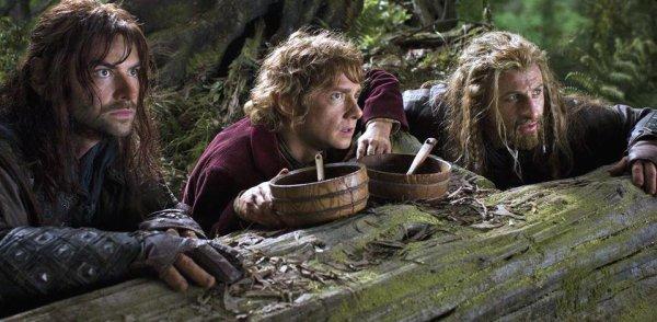 ■ [ The Hobbit ]  Un cliché de Bilbo, Kili & Fili !