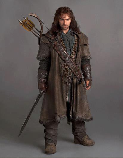 ■ [ The Hobbit ]  Encore un cliché du photoshoot de Kili