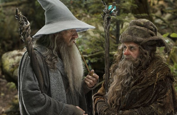 ■ [ The Hobbit ]  Cliché HD de Gandalf et Radagast !