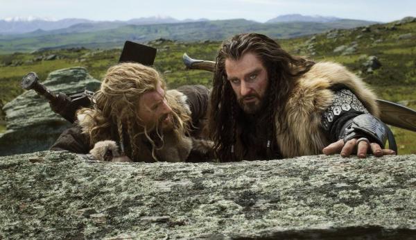 ■ [ The Hobbit ]  Cliché HD de Thorin et Fili !