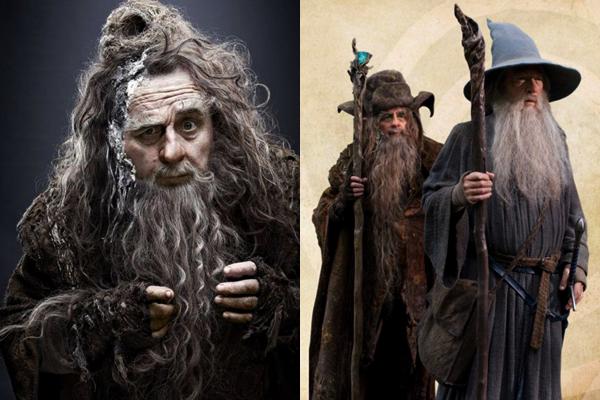 ■ [ The Hobbit ]  Plusieurs nouvelles photos du film !Coulisses, Radagast, Thorin, Gandalf...
