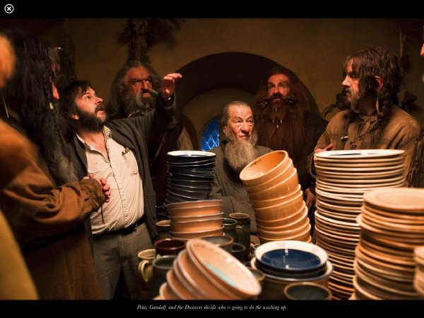 ■ [ The Hobbit ]  Un tas de nouvelles photos qui ont été réalisées sur le tournage du film !