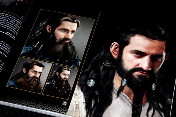 ■ [ The Hobbit ]  Aperçu du Concept Art par Daniel Falconer- Thorin -