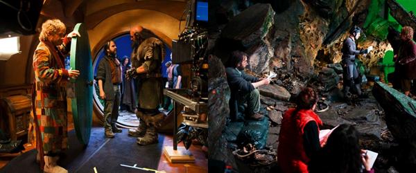 ■ [ The Hobbit ]  Sur le tournage de la trilogie en photosPartie I