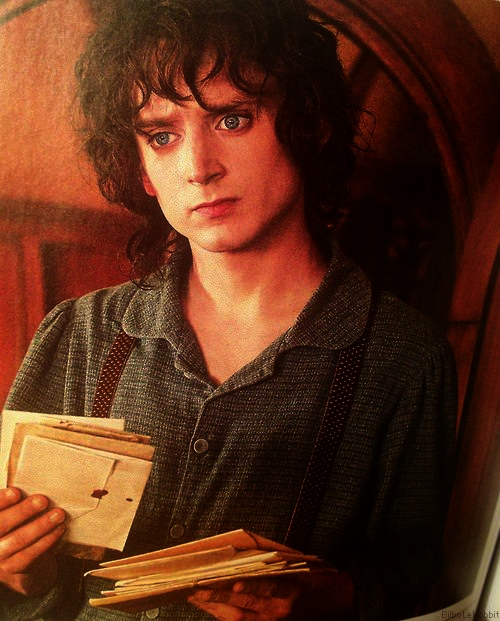 ■ [ The Hobbit ]  Nouveau cliché de Frodo dans The Hobbit !