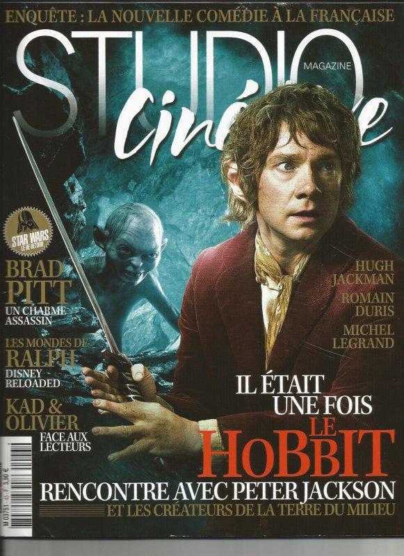■ [ Presse ]  Studio Ciné Live consacre sa une à The Hobbit !