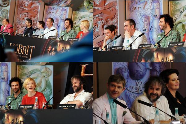 ■ [ Evènement 2012 ]  Conférence de Presse28 Novembre 2012 - Wellington