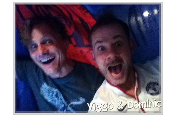 ■ [ Retrouvailles ]  Viggo Mortensen et Dominic Monaghan
