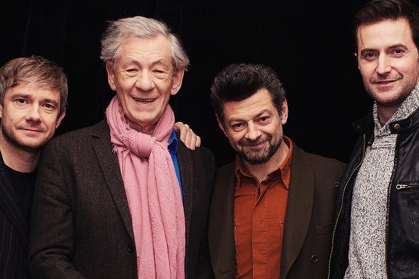 ■ [ The Hobbit ]  Photoshoot de Martin, Richard, Andy et Sir Ian