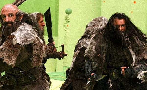 ■ [ The Hobbit ]  Nouvelle photo du tournage