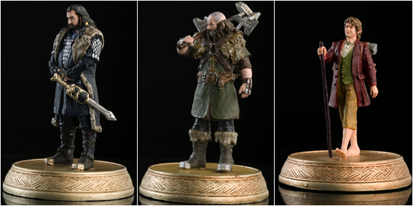 ■ [ The Hobbit ]  Collection Eaglemoss - Jeu d'échecs