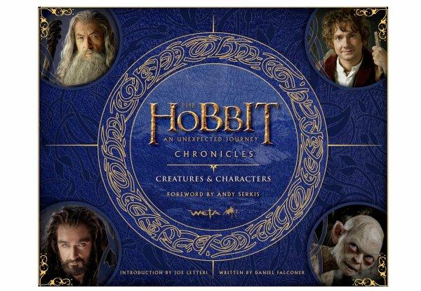 ■ [ The Hobbit ]  Nouveau Livre - Créatures & Personnages, par WETA
