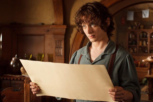 ■ [ The Hobbit ]  Cliché de Frodo en HD