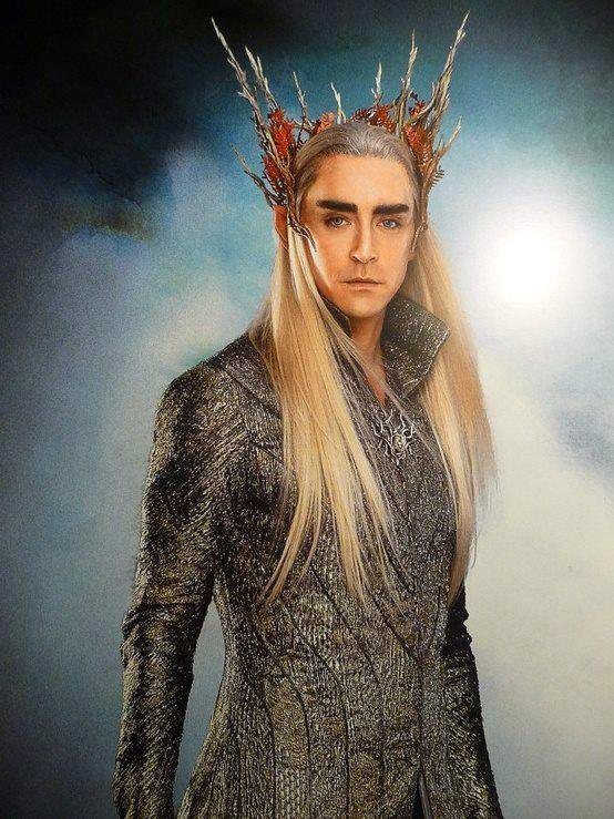■ [ The Hobbit ]  Photoshoot de Thranduil