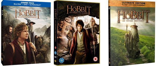■ [ The Hobbit ]  Découvrez les différents visuels des Dvds-Blu-Ray du premier film