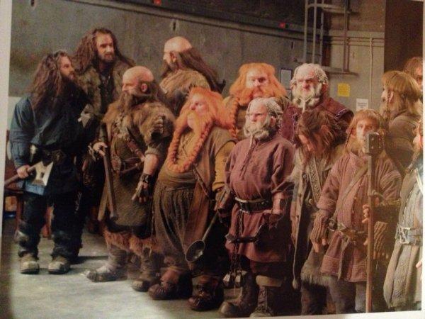 ■ [ The Hobbit ]  Photo du tournage postée par Graham McTavish Les Nains et leurs doublures