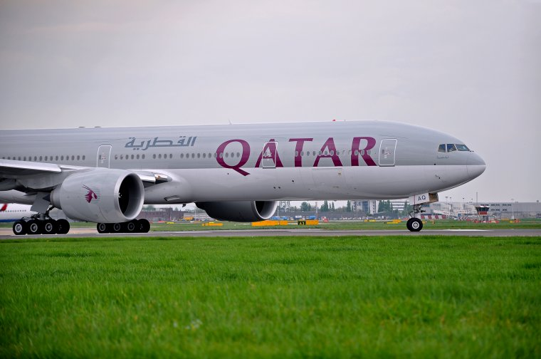 Boeing 777-3DZ/ER Qatar Airways