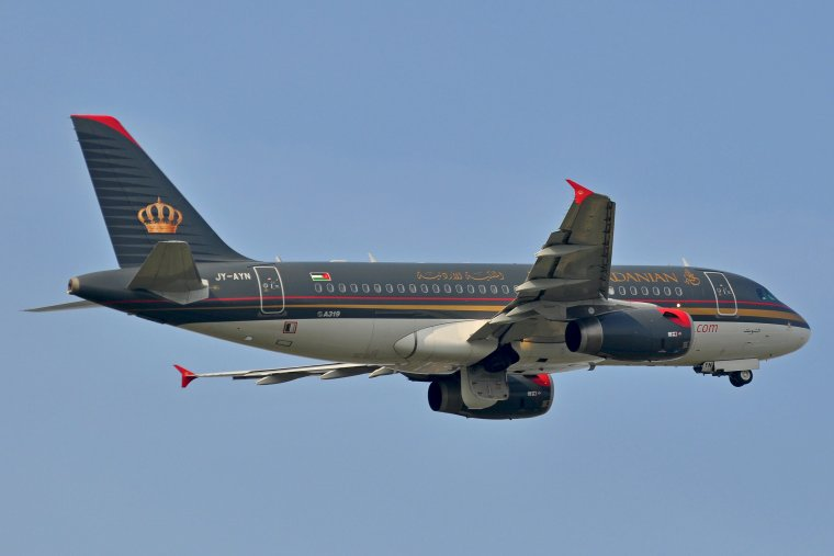 Airbus A319-132 Royal Jordanian Airlines