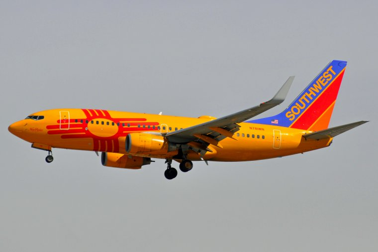 "Boeing 737-7H4 Southwest Airlines ""New Mexico"""