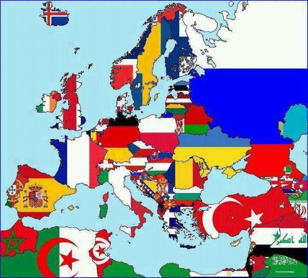 Si tu trouves ton pays Aime ... ♥ ♥